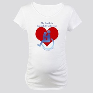 My Disabled Daddy Maternity T-Shirt