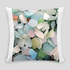 Sea glass Everyday Pillow