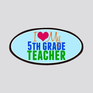 5th Grade Teacher Patch