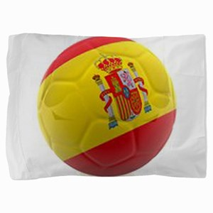 Spain world cup soccer ball Pillow Sham