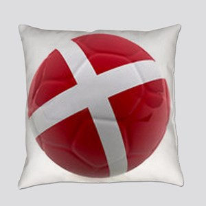 Denmark world cup ball Everyday Pillow