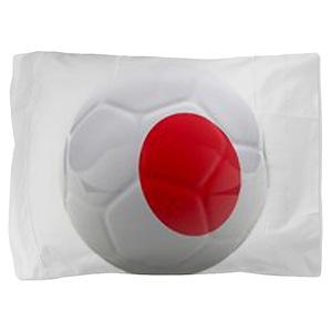 Japan World Cup Ball Pillow Sham