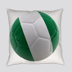 Nigeria World Cup Ball Everyday Pillow