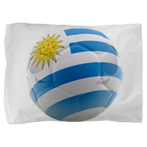 Uruguay World Cup Ball Pillow Sham