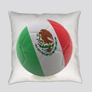 Mexico World Cup Ball Everyday Pillow