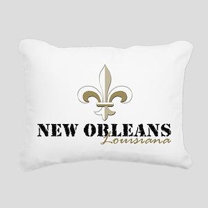 New Orleans Louisiana go Rectangular Canvas Pillow