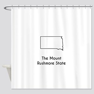 The Mount Rushmore State Shower Curtain