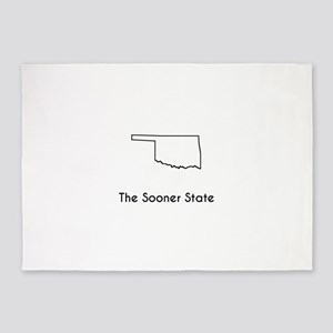 The Sooner State 5'x7'Area Rug