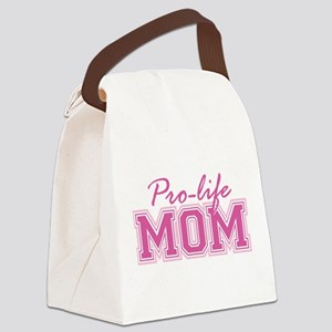 Pro-life Mom Canvas Lunch Bag