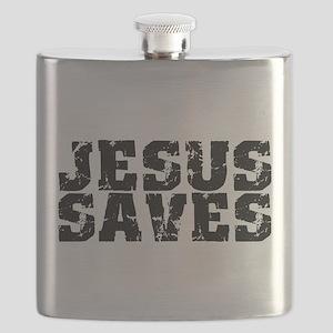 Jesus Saves bk Flask