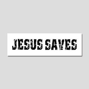 Jesus Saves Bk Car Magnet 10 X 3