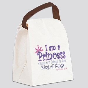 I am a Princess Canvas Lunch Bag