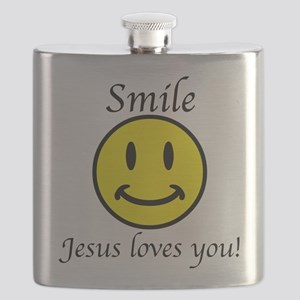 Smile Jesus Flask