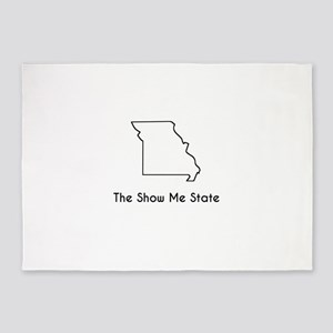 The Show Me State 5'x7'Area Rug