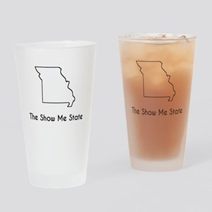 The Show Me State Drinking Glass