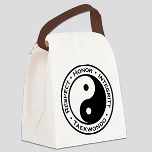 Respect Honor Integrity Tkd Canvas Lunch Bag