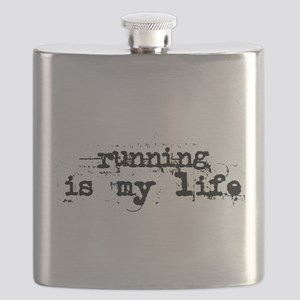 Running is my life Flask
