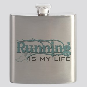 Running is my life bc Flask