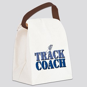 Track Coach Canvas Lunch Bag