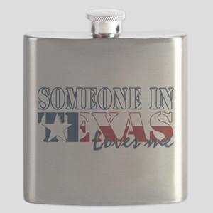 Someone in Texas Flask