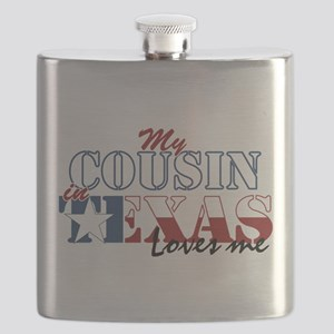 My Cousin in TX Flask
