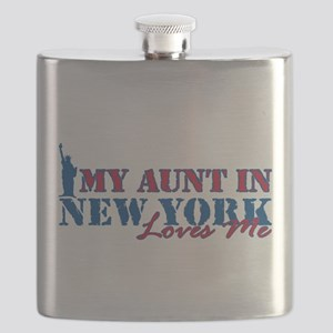 My Aunt in NY Flask