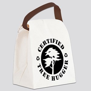 Certified Tree Hugger Canvas Lunch Bag