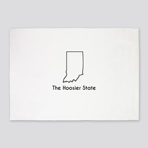The Hoosier State 5'x7'Area Rug