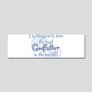 Blessed Godfather BL Car Magnet 10 x 3