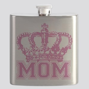 Crown Mom Flask