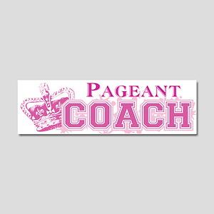 Pageant Coach Car Magnet 10 x 3