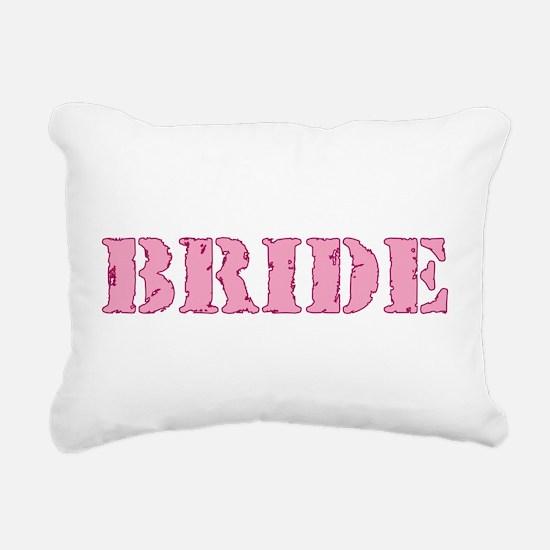 Unique Team bride Rectangular Canvas Pillow