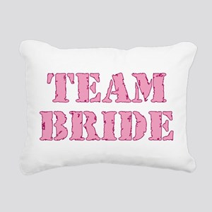 Team Bride Rectangular Canvas Pillow