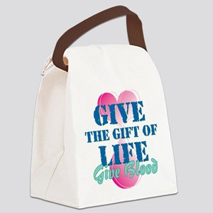 Gift of Life BD Canvas Lunch Bag