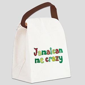 Jamaican Me Crazy Canvas Lunch Bag