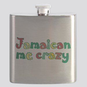 Jamaican Me Crazy Flask