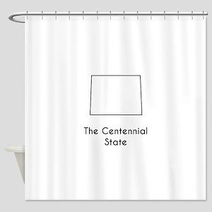 The Centennial State Shower Curtain