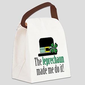 Leprechaun made me Canvas Lunch Bag