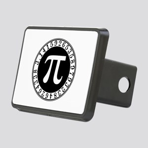 Pi sign in circle Rectangular Hitch Cover