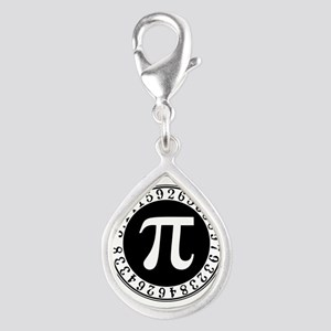 Pi sign in circle Charms