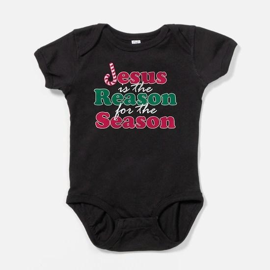 About Jesus Cane Baby Bodysuit