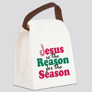 About Jesus Cane Canvas Lunch Bag