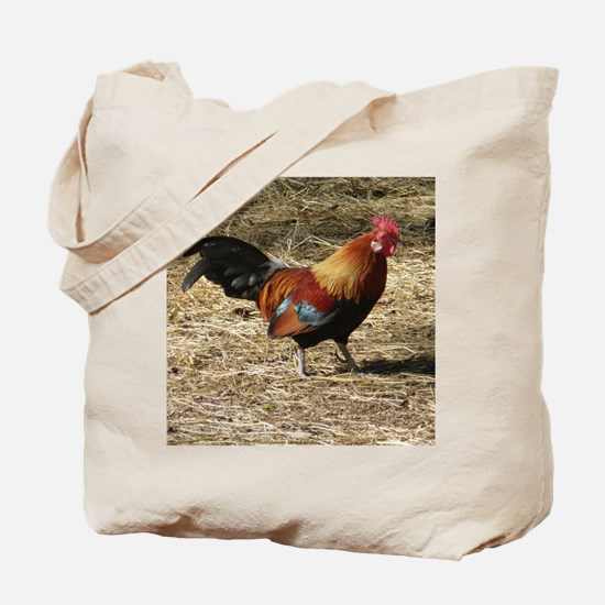 Cool Rooster Tote Bag