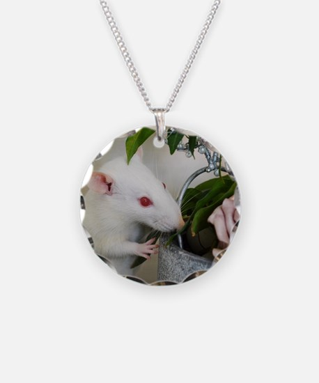 Unique Rat Necklace