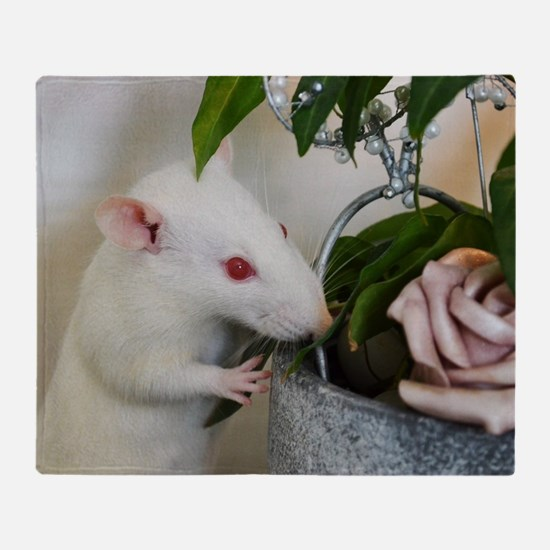 Cool Rat Throw Blanket