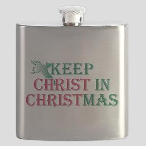 Keep Christ cross Flask