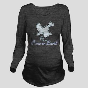 peace_earthbs Long Sleeve Maternity T-Shirt