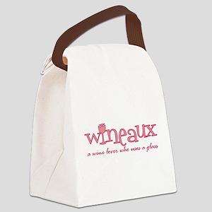 Wineaux def Canvas Lunch Bag