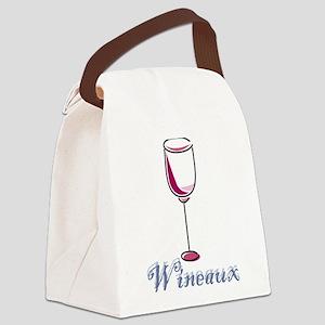 Wineaux Canvas Lunch Bag