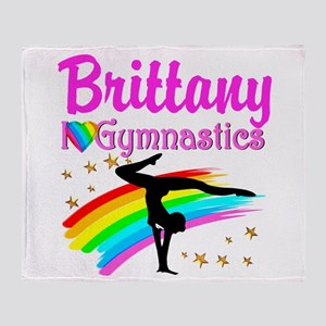 WINNING GYMNAST Throw Blanket